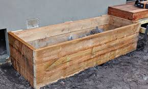 how to build a raised garden bed with sleepers bunnings warehouse