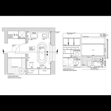 Free Bathroom Design 2d Master Bathroom Design Cadblocksfree Cad Blocks Free