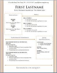 sample resume download in word format resume templates word