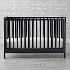 crib mattress support frame carousel crib grey the land of nod