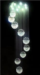 Ball Chandelier Lights Spiral Chandelier Modern Contemporary Editonline Us