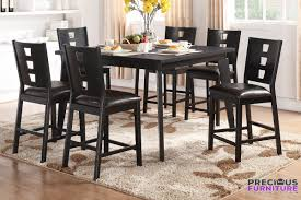 7 piece dining set counter height dining set dining room