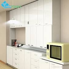 Wallpaper Designs For Kitchens 60cm 3m Kitchen Bathroom Solid Diy Decorative Film For Cabinet