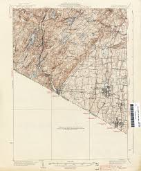 Map Qu New Jersey Topographic Maps Perry Castañeda Map Collection Ut