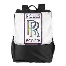 rolls royce logo rolls royce cool logo design daypack travel backpack for men women