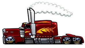 semi truck tattoos clip art library