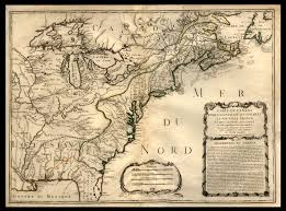 New France Map by Canada And Louisiana In The Formation Of New France And The