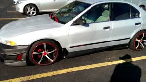 mitsubishi galant body kit 99 mitsubishi galant project video 6 youtube