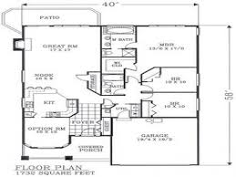 Walk Out Basement House Plans by 100 Ranch Home Floor Plans With Walkout Basement Simple