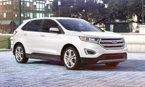 white ford edge car revs daily com 2015 ford edge oxford white 31