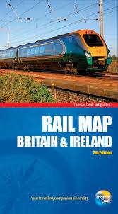 Ireland Rail Map Rail Map Of Britain U0026 Ireland 7th Rail Guides Amazon Co Uk