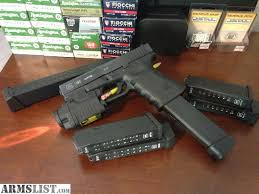 glock 19 laser light combo armslist for trade glock19c laser light combo ammo hi cap mags