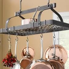 kitchen island hanging pot racks hanging pot racks williams sonoma