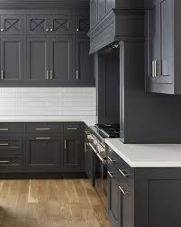 gray stained kitchen cupboards kitchen with gray cabinets why to choose this trend decoholic
