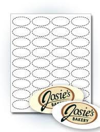 custom oval stickers oval labels templates stickeryou products