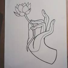 lotus drawing sketch lotusflower on instagram