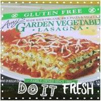 amy u0027s lasagna garden vegetable gluten free reviews