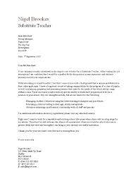 cover letter for resume substitute teacher sample amp cv format 25