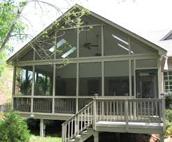 Screen Porch Roof Exterior Additions Portfollio