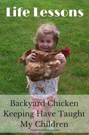 4 lessons keeping backyard chickens have taught my kids