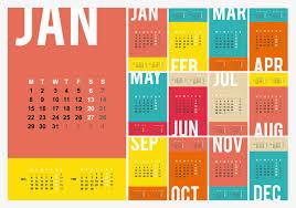 large color 2018 desk calendar templates calendar 2018 single