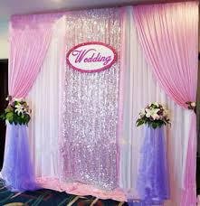 Wedding Backdrop Ebay New Wedding Stage Background Decoration Welcome Curtains Reception