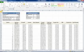 Loan Spreadsheet Calculator by Mortgage Loan Calculator Using Excel Turbofuture