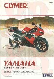 yamaha yzfr6 99 04 yzf r6 yzf r clymer service repair manual book