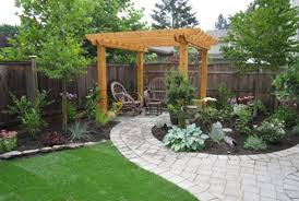 backyard landscaping with pit simple backyard landscaping ideas pit design idea and