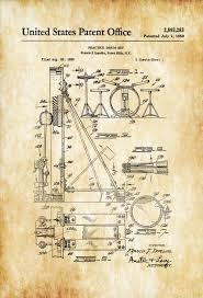 drum set patent patent print wall decor music poster musical