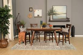 7 Piece Dining Room Set by Malcolm 7 Piece Extension Counter Set Living Spaces