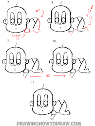how to draw thanksgiving how to draw a cartoon baby from the word baby in easy steps