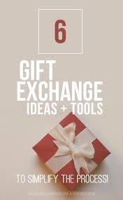 simplify giving u2013 6 family christmas gift exchange ideas u0026 tools
