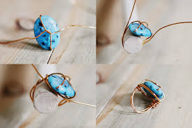 simple wire rings images Sincerely kinsey wire wrap ring diy JPG