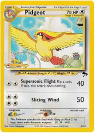 pidgeot southern islands 2 card