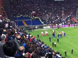 ospiti la gabbia italia serbia annullata per gli scontri wakeupnews
