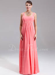maternity bridesmaid dresses empire scoop neck floor length chiffon maternity bridesmaid dress