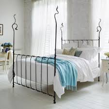 the squigalina uplifting organic forged iron bedstead from and