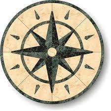 floor medallion 24 explorer series marble granite m011 24