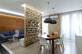 fabric room divider ideas design between living and dining hdb to