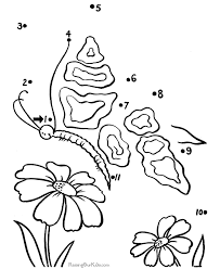 printable butterfly image to color