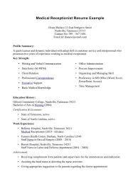 sample medical assistant resume sample resume for medical