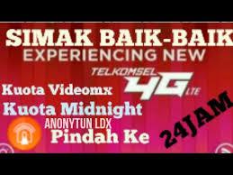 setting anonytun midnight kuota malam midnight videomax di pindahkan telkomsel 24 jam anonytun