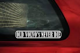 opel euro retro enthusiast old volvo s never die classic u0026 retro volvo car sticker