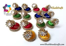 pachi work earrings silk thread jhumkas silk jhumkas silk thread jhumka silk