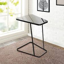 C Side Table Lifewit Nightstands C Shape Side Table Black