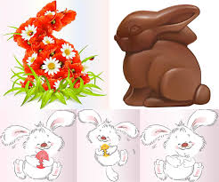 easter bunny vector graphics art free download design ai eps