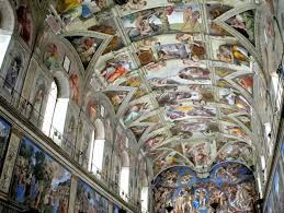 Sistine Chapel Picture - View