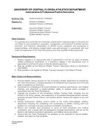 Training Resume Examples by Cover Letter For Soccer Coaching Position Cover Letter Examples
