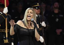 fergie u0027s nba all star game national anthem confuses amuses sfgate